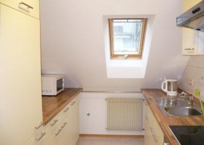 Ferienhaus Igel Wohnung Dachgeschoss Küche