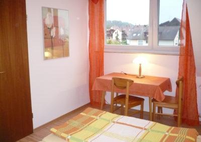 Ferienhaus Igel Wohnung Dachgeschoss Schlafzimmer