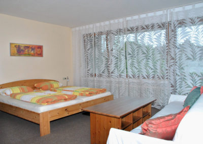 Ferienhaus Igel Wohnung Erdgeschoss Schlafzimmer